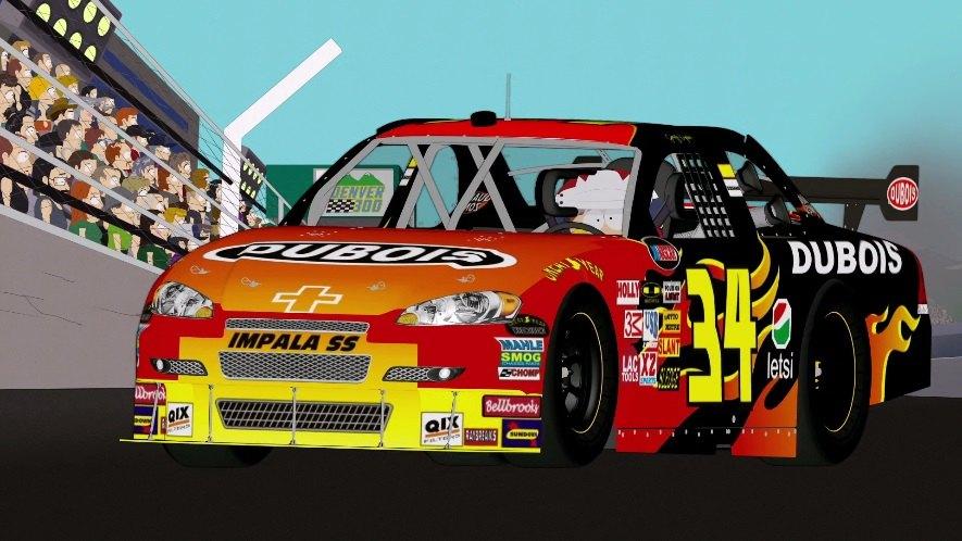 "IMCDb.org: 2010 Chevrolet Impala SS NASCAR in ""South Park ..."