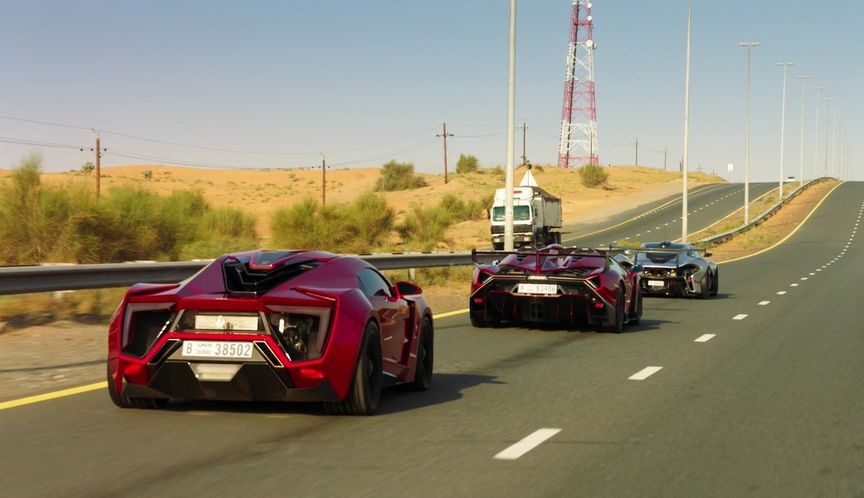 IMCDb org: 2013 W Motors Lykan Hypersport in