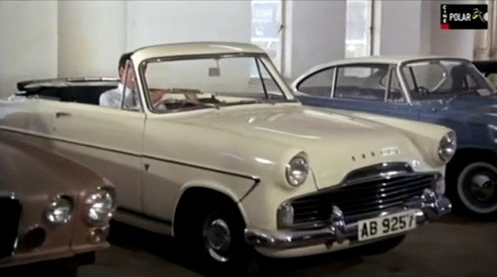 1956 Ford Zodiac Convertible Carbodies MkII [206E]
