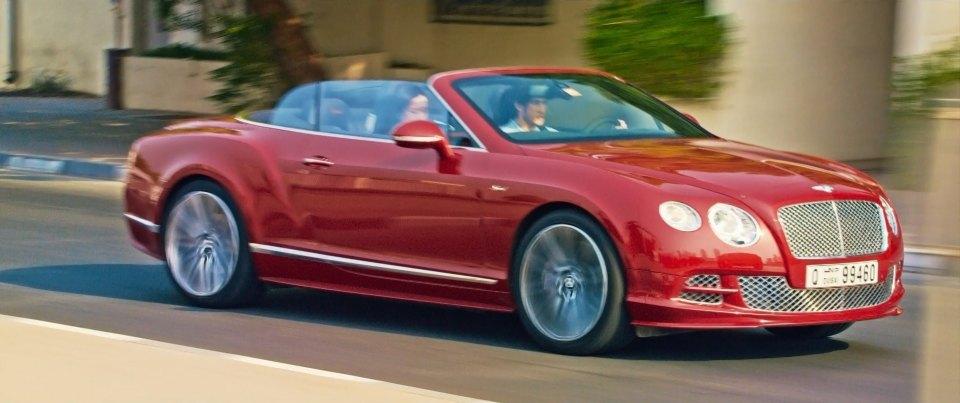 IMCDb.org: 2015 Bentley Continental GT Speed Convertible in \