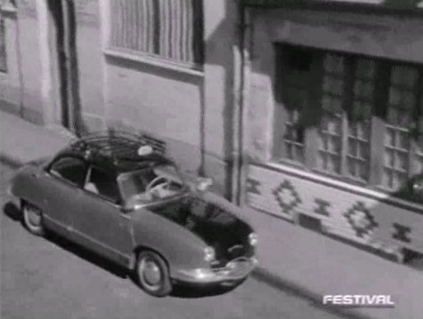 1954 panhard dyna z taxi g7 in le colonel est de la revue 1957. Black Bedroom Furniture Sets. Home Design Ideas