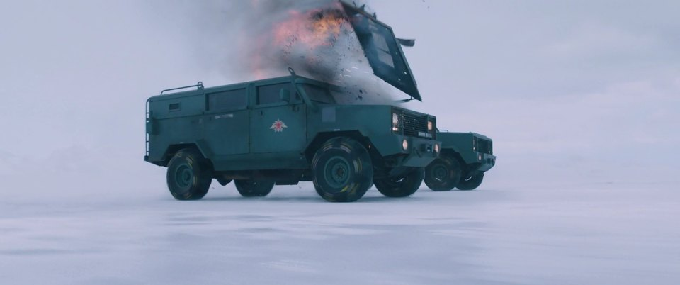 Made for Movie MRAP 'The Rhino' on Chevrolet by CRB Metal Fab