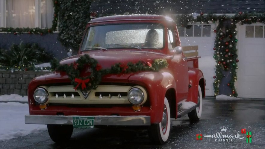 Christmas In Evergreen Truck.Imcdb Org 1953 Ford F 100 In Christmas In Evergreen 2017