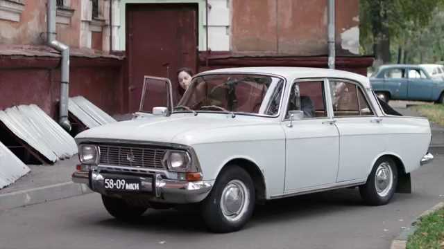 1974 Moskvitch 412 IE