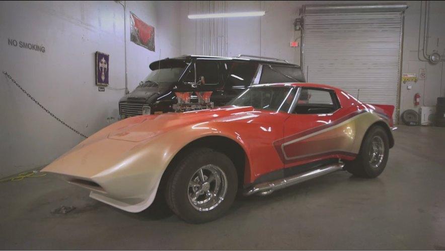 Imcdb 1968 Chevrolet Corvette C3 In Counting Cars 2012 2018