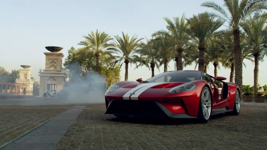 Imcdb Org  Ford Gt In Gymkhana Eight Ultimate Exotic Playground Dubai