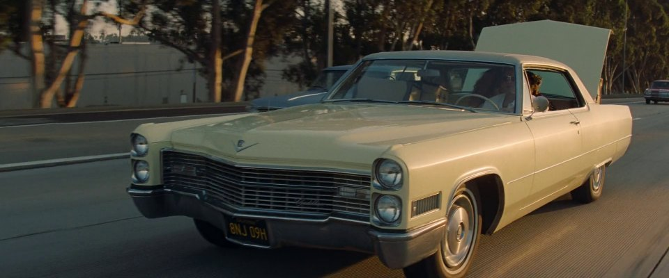 Imcdb Org 1966 Cadillac Coupe Deville 68357j In Quot Once Upon A Time In Hollywood 2019 Quot