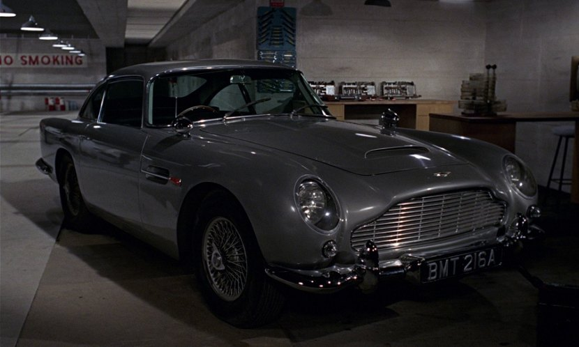 IMCDborg Aston Martin DB DP In Goldfinger - 1964 aston martin for sale