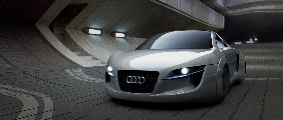 IMCDborg Audi RSQ In I Robot - Audi car origin
