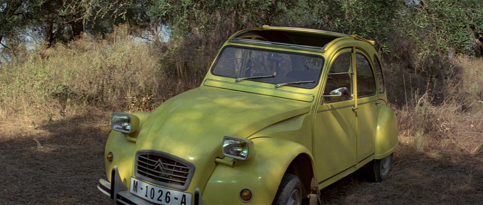citroen 2cv 1981