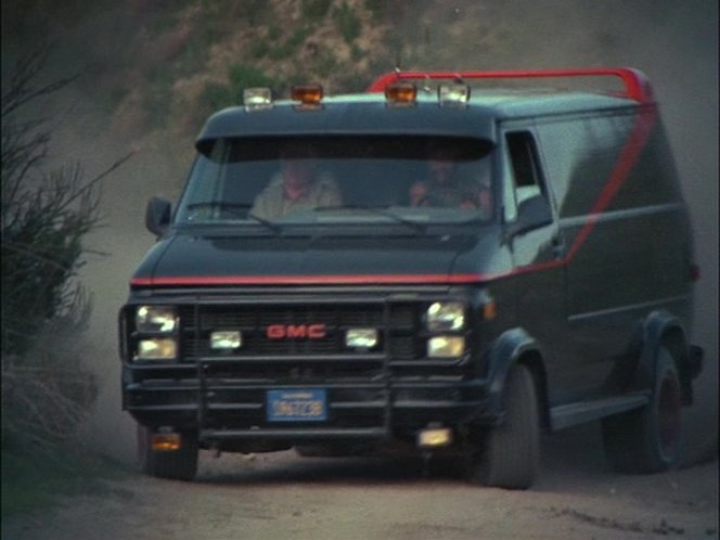 1983 gmc vandura g 1500 in the a team 1983. Black Bedroom Furniture Sets. Home Design Ideas