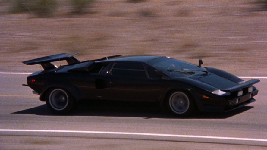 1980 lamborghini countach lp 400 s in the cannonball run 1981. Black Bedroom Furniture Sets. Home Design Ideas