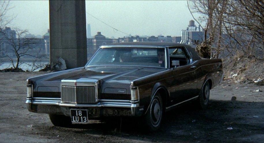 Imcdb Org 1970 Lincoln Continental Mark Iii Two Door Hardtop 65a