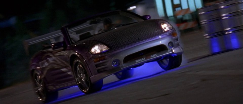 2001 Mitsubishi Eclipse Spyder GTS