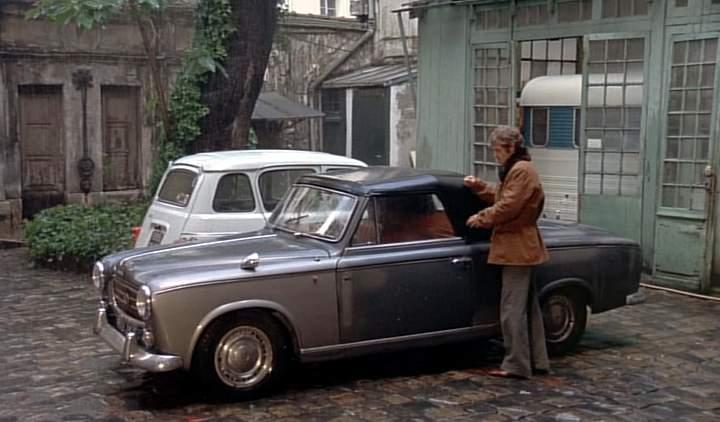 1960 peugeot 403 cabriolet in le magnifique 1973. Black Bedroom Furniture Sets. Home Design Ideas