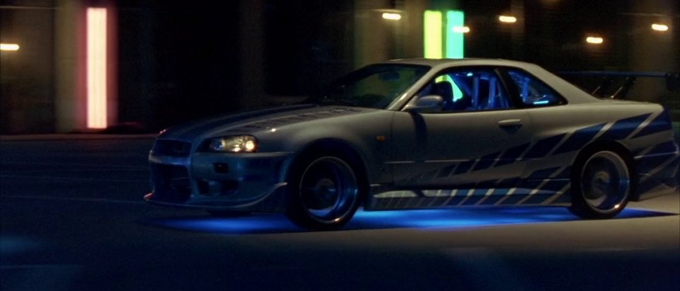 "Nissan Skyline Gtr For Sale >> IMCDb.org: 1999 Nissan Skyline GT-R [R34] in ""2 Fast 2 Furious, 2003"""