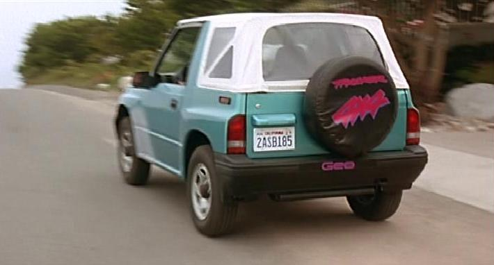 Geo Tracker Car