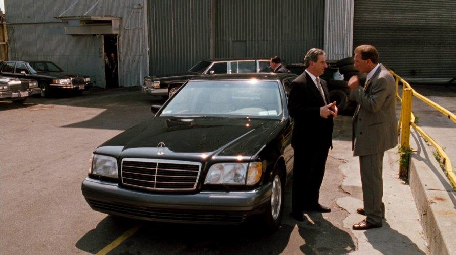 Imcdb Org 1995 Mercedes Benz S 420 W140 In Analyze This 1999