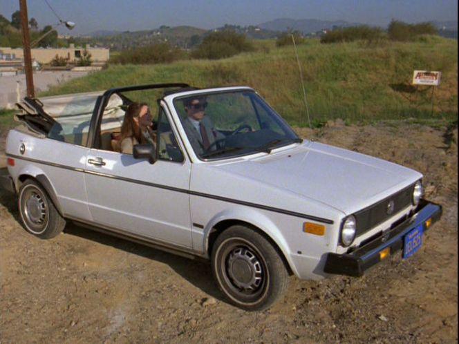 1980 Volkswagen Rabbit Convertible I Typ 17