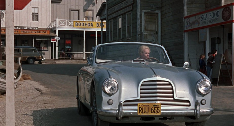 Image result for aston martin drop head coupe the birds