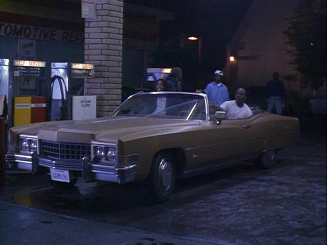 1973 Cadillac Fleetwood Eldorado In Menace Ii Society