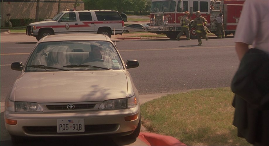 1996 toyota corolla e100 in office space 1999. Black Bedroom Furniture Sets. Home Design Ideas