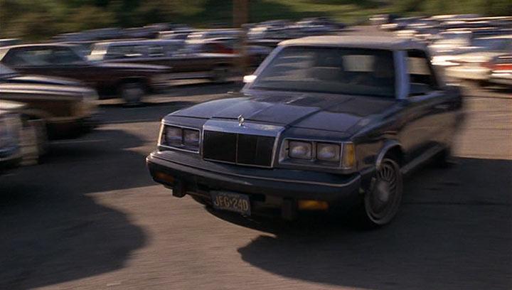 Imcdb Org 1986 Chrysler Lebaron Convertible Turbo In Quot See