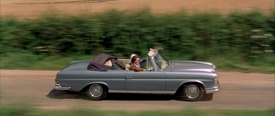 1969 Mercedes-Benz 280 se convertible