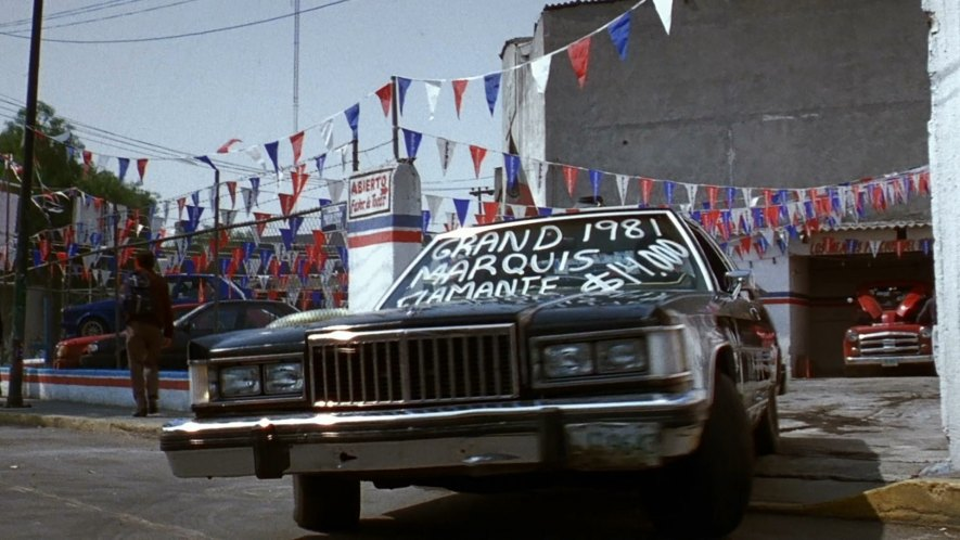 Imcdb Org 1983 Ford Grand Marquis Coupe In Quot Amores Perros