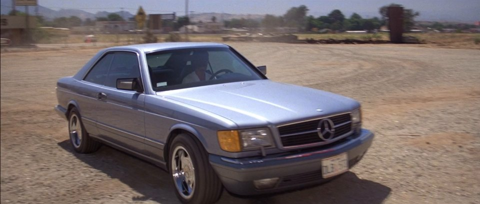 1986 mercedes benz 560 sec c126 in road for 1986 mercedes benz 560 sec