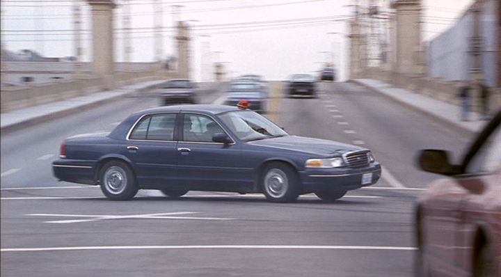 1998 Ford Crown Victoria Blue 200 Interior And Exterior Images