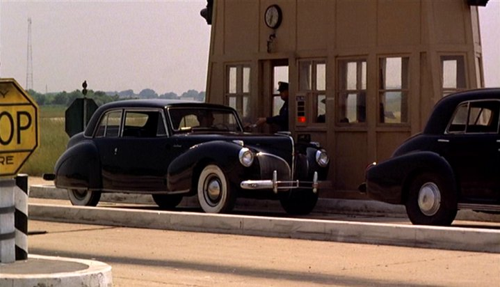 1941 lincoln continental 57 in the godfather. Black Bedroom Furniture Sets. Home Design Ideas