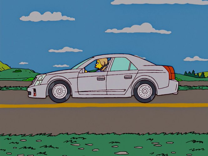 """Used Cars Pensacola >> IMCDb.org: 2004 Cadillac CTS-V in """"The Simpsons, 1989-2018"""""""