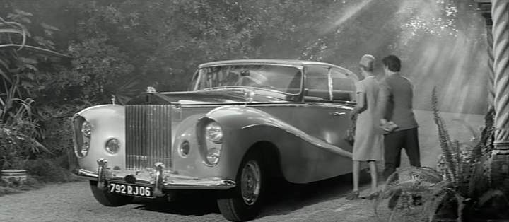 1956 Rolls Royce Silver Wraith Perspex Top Saloon By