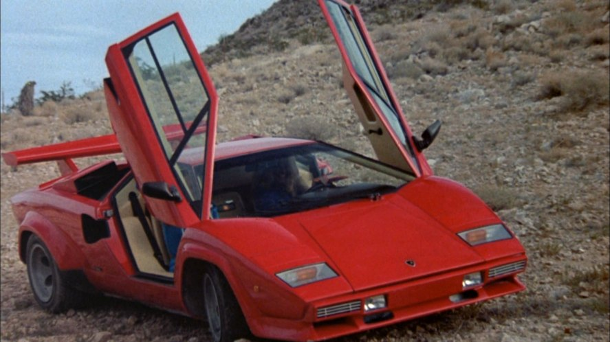1983 lamborghini countach lp 500 s in cannonball run ii 1984. Black Bedroom Furniture Sets. Home Design Ideas