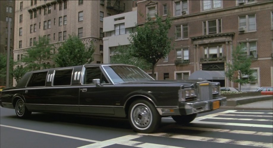 imcdb 1986 lincoln town car stretched limousine in the secret Future Lincoln Town Car 1986 lincoln town car stretched limousine