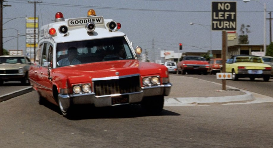 IMCDb org: 1970 Cadillac Ambulance Superior Rescuer in