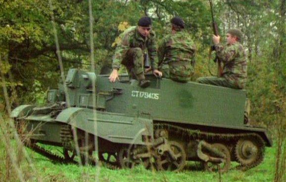 Universal Carrier Mk.ii Mk.ii 'bren Gun Carrier