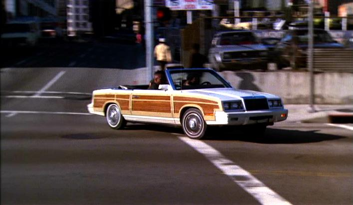 1984 Chrysler LeBaron Town & Country Convertible