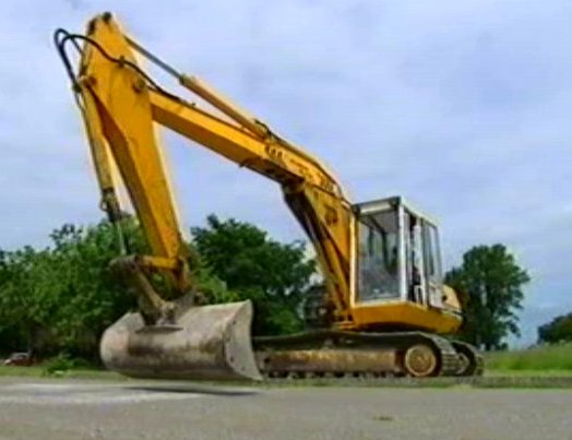 JCB 820 Power Slide