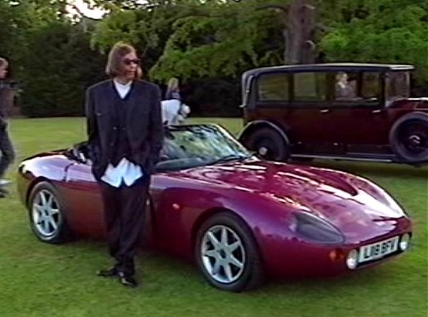 1994 tvr griffith 500 in chris barrie 39 s motoring wheel n. Black Bedroom Furniture Sets. Home Design Ideas