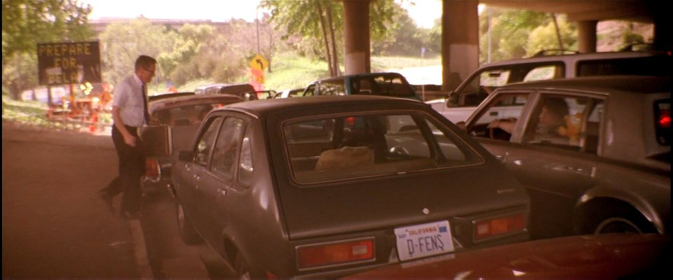 Michael Douglas Falling Down Chevrolet Chevette