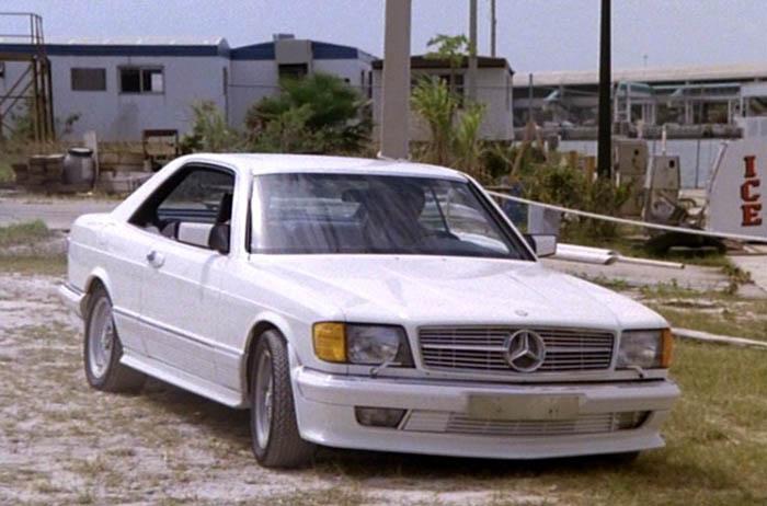 Mercedes benz 500 sec c126 in miami vice for Used mercedes benz miami
