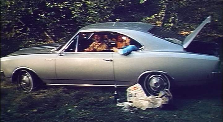 Imcdb Org 1967 Opel Rekord Coupe C In The Girl On A