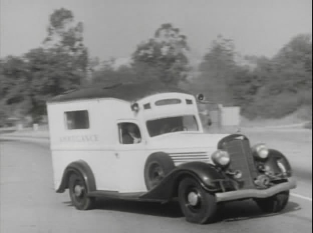 1934 Buick Series 90 Ambulance