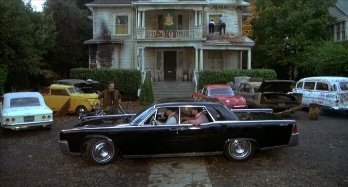 1964 lincoln continental in animal house 1978. Black Bedroom Furniture Sets. Home Design Ideas