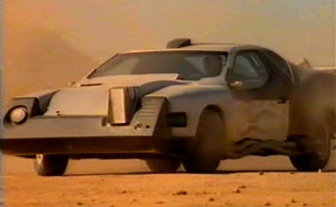 1991 Ford Thunderbird Modified For Movie