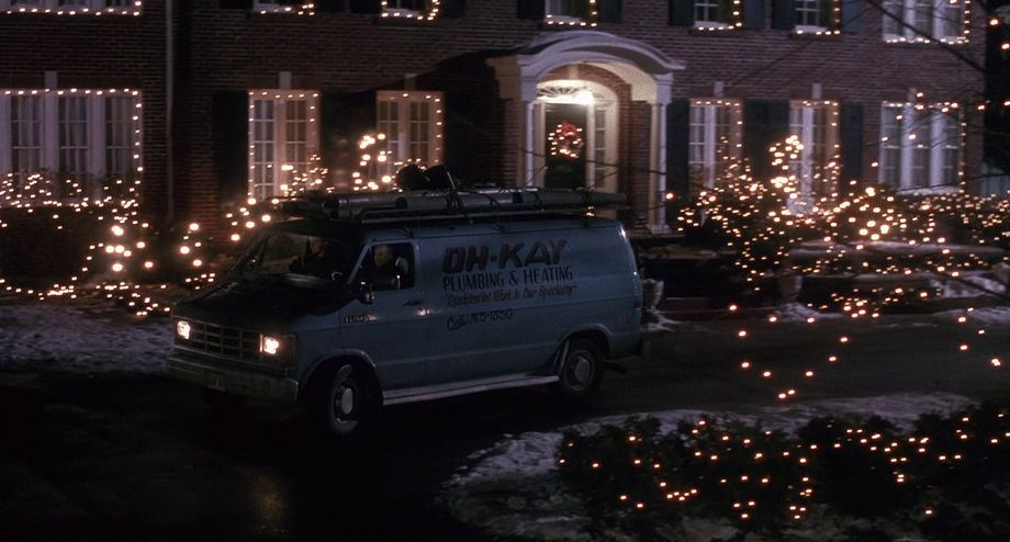 Skin Suggestion Home Alone Quot Oh Kay Heating And Plumbing