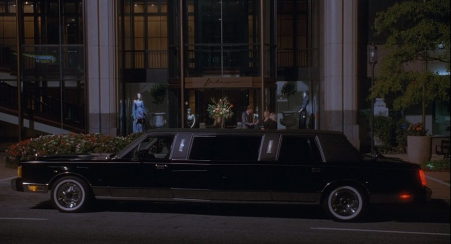 1985 Lincoln Town Car Stretched Limousine