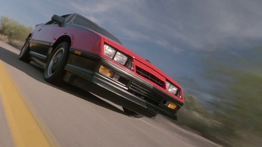 The Wraith Car >> Imcdb Org 1986 Dodge Daytona C S G In The Wraith 1986
